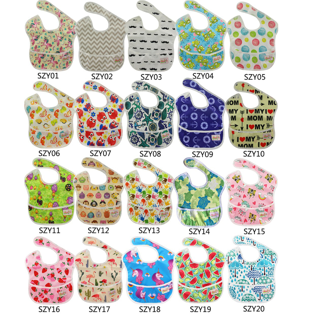 Boys' Baby Clothing Bibs & Burp Cloths Energetic Wholesale Pack Ohbabyka Baby Bibs & Brups Polyester Waterproof Feeding Bibs Baby Reusable Cartoon Bib Apron Baby Accessories 2019 Latest Style Online Sale 50%