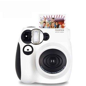 Image 3 - Fujifilm Instax Mini 7s anında Film fotoğraf kamerası mavi pembe siyah ücretsiz kargo, kabul Fuji Fujifilm Instax Mini Film