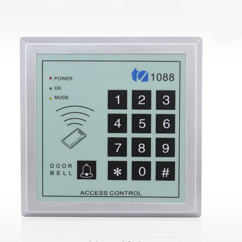1088 User 125Khz RF ID Card Password Door Access Control