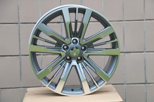 Four pieces 20x8.5 ET44 5x114.3 Gunmetal Machined Face FITS FORD Explorer 2011 - 2018 Alloy Wheel Rims W592