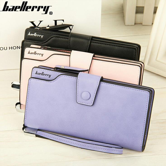 Women's Wallet Lady Zipper Hasp Purse Long Style Closure Huge Capacity Fashion Handbag Money Bag More Card Slots