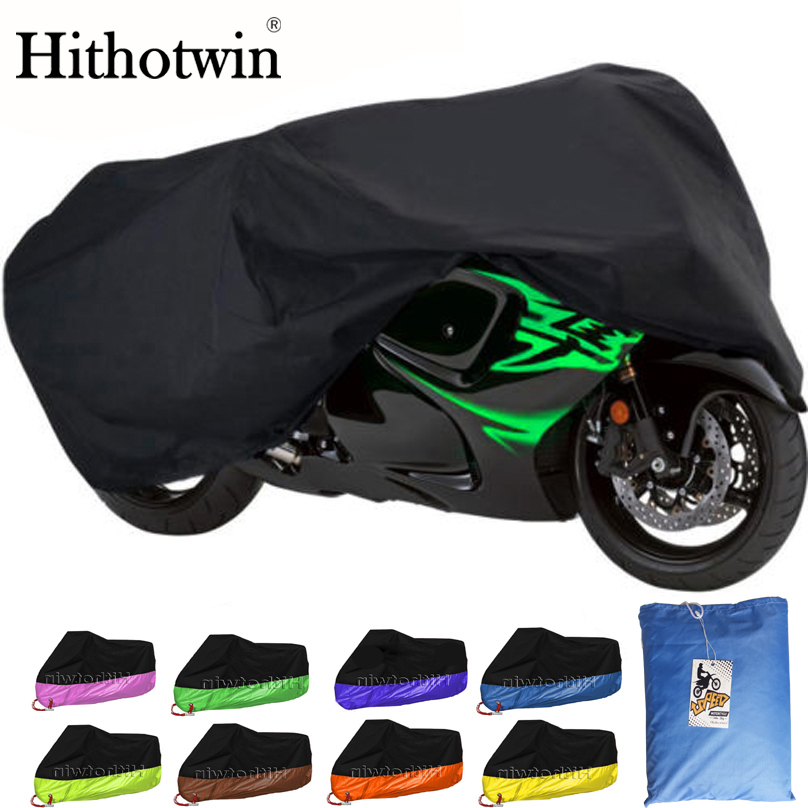 Red Cover Outdoor Rain Dust UV Protector US L Waterproof Motorcycle Black
