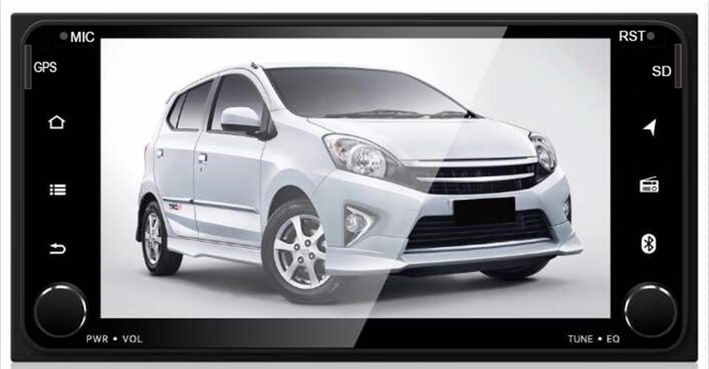 4G LTE Android 7.1 ROM 16G car multimedia DVD player PC Radio For Toyota Universal RAV4 COROLLA VIOS HILUX Terios Land Cruiser