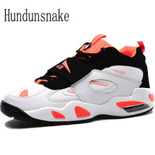 Hundunsnake White Sneakers Women's Leather Running Shoes For Men 2017 Ladies Shoes Sport Female Krasovki Cushioning Gumshoe T117