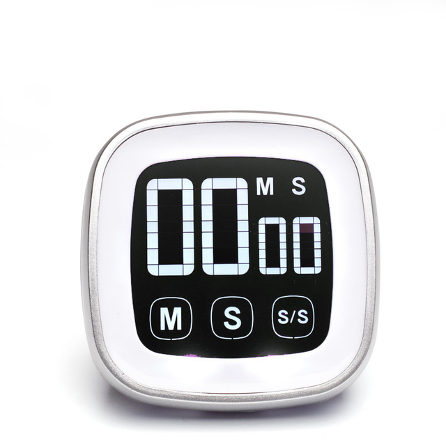 Free Shipping, Touch Screen Kitchen Timer, Liquid Crystal