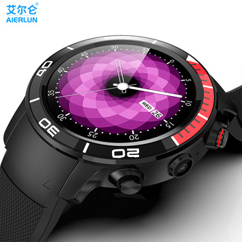 H8 Smart Watch Android 7.1 OS MTK6739 Quad Core 1.28GHz 1GB 16GB Ip68 waterproof Smartwatch Support swimming PK Z28 LEM9 HOPE