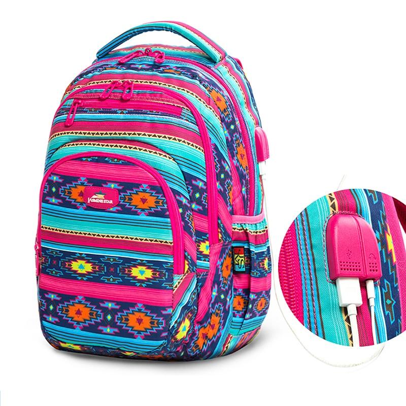 2019 Hot New Children School bags For Teenagers Boys Girls Big Capacity School Backpack Waterproof Satchel