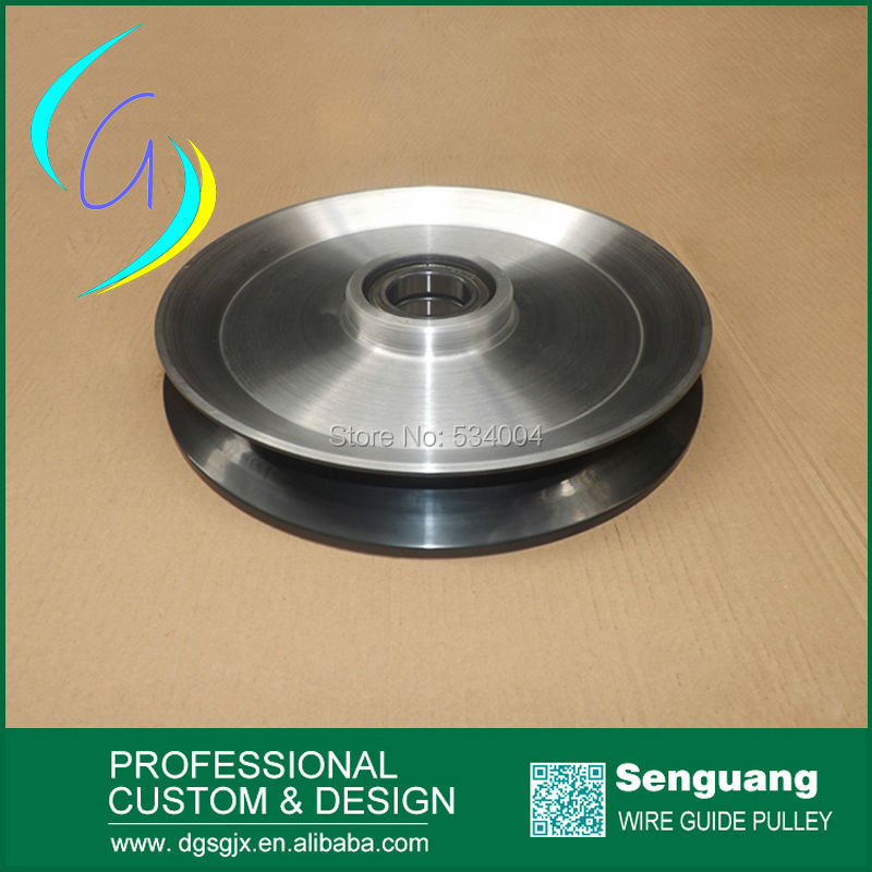 China low friction fine polished tension pulley