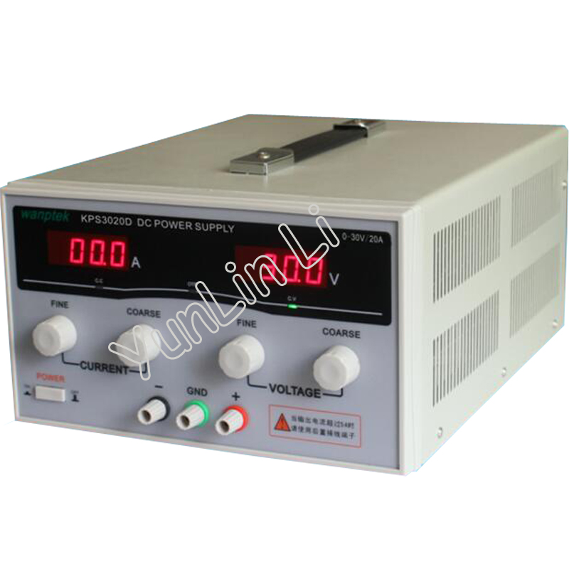 High Precision Adjustable Digital DC Power Supply 30V/20A for Scientific Research Laboratory Switch DC Power Supply laboratory power supply ka3005d high precision adjustable digital linear dc power supply 30v 5a 10mv 1ma for laboratory test