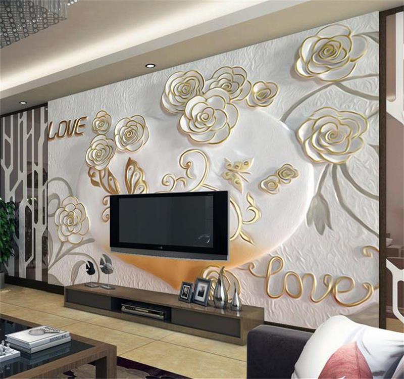 3D habitación de papel pintado personalizado mural no tejido ...