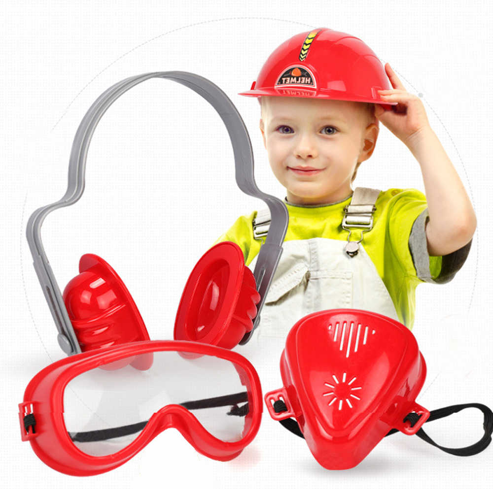 子供のおもちゃ電気ドリルツールおもちゃツールボックスセットシミュレーションドリルドライバー修復ツールキットハウス子供のためのおもちゃを再生