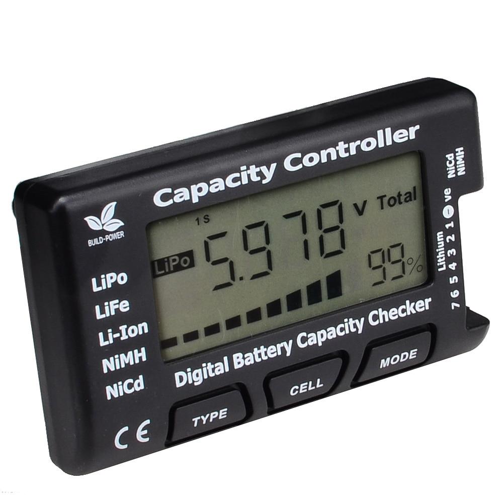 High Quality Cellmeter-7 Digital Battery Capacity Checker RC CellMeter 7 For LiPo LiFe Li-ion NiMH Nicd