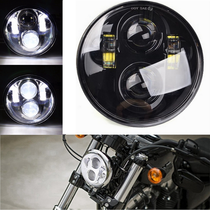 5-3/4 5.75 Inch Projector LED Headlight for Motorcycles Headlamp 40W5-3/4 5.75 Inch Projector LED Headlight for Motorcycles Headlamp 40W