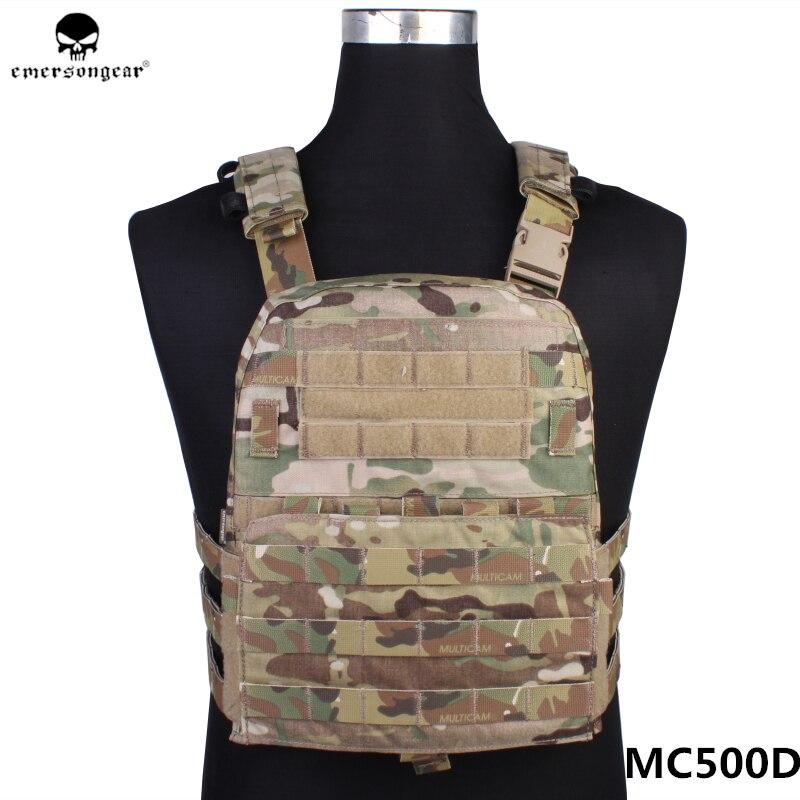 Emerson CP Style Lightweight AVS VEST Hunting Fabric AVS Vest Adaptive Vest Airsoft Combat Gear EM7398 Multicam Black AOR