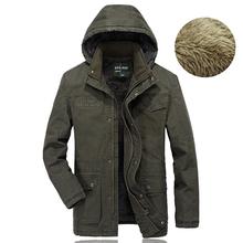 5XL Men s Overcoat Thick Fur Parka Men Winter Jacket Men Cashmere Warm Brand Parka Coat