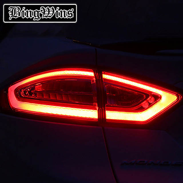 Bingwins Car Styling Tail Light Case For Ford Fusion Taillights 2017 2016 Led Lamp