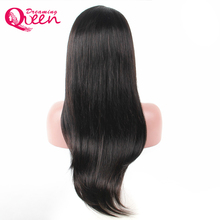 Glueless Brazilian Straight Wigs Lace Front Human Hair Wigs With Baby Hair Black Remy Hair Wig