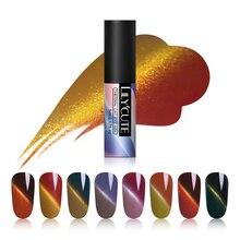 LILYCUTE 5ml Magnetic Color Changing UV Gel Polish Soak Off Thermal Eye Cat Nail Varnish Art