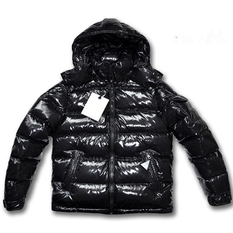 f9c5e1706ff Buy 2017 Winter Fashion Boys Mens Goose Down Coats with Hooded 80% White  Duck Down Jackets Black Thicker Outwear Hommes Clothes Cheap Online