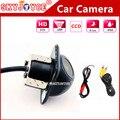 CCD HD камеры автомобиля спереди/сбоку/влево/вправо/камера заднего вида водонепроницаемый универсальный автомобиль обращая парковка детектор камеры черный