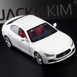 Image 3 - High Simulation Exquisite Diecasts & Toy Vehicles: Caipo Car Styling Maserati Ghibli Sports Car 1:32 Alloy Diecast Model Toy Car