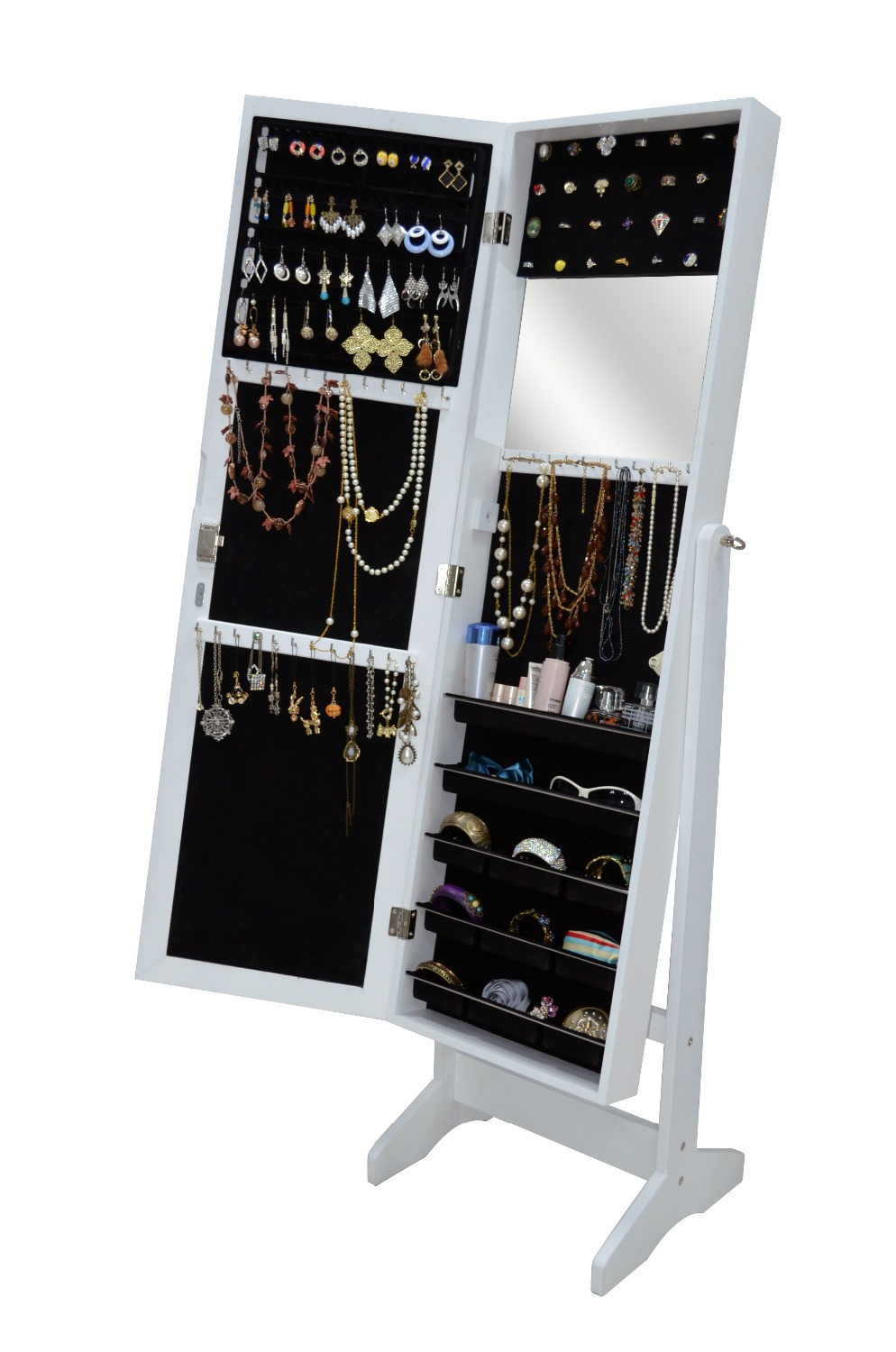 Aliexpress.com : Buy USA Free Shipping Living Room Furniture Storage Box  Mirrored Jewelry Cabinet