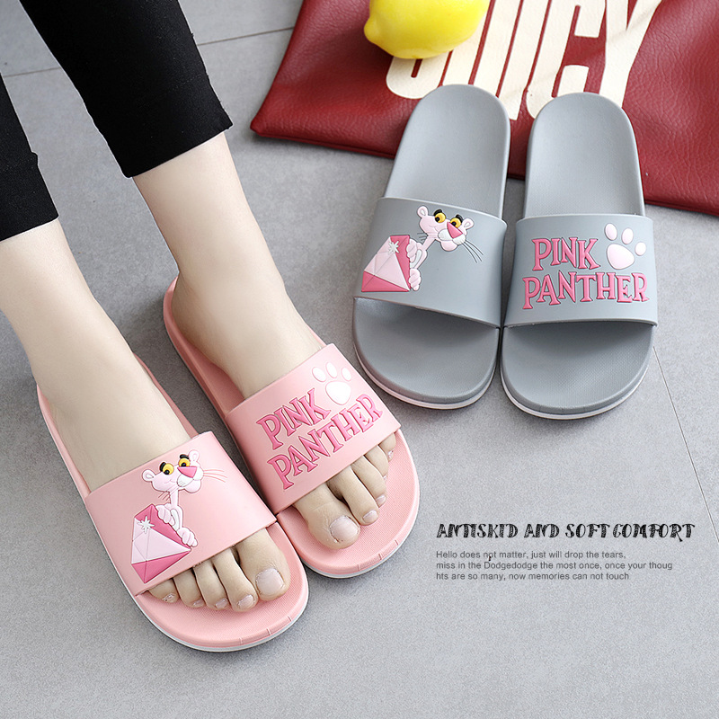 Women slippers slides Indoor home shoes Bathroom Summer slippers Cartoon slipper Lady female Slippers fashion flip flops bathroom slippers slip bath leaking water home shoes women slippers plastic home lovers slides slippers summer flip flops