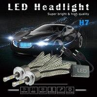Car Canbus H7 H4 H8 H11 9005 9006 9012 LED Headlights 10800lm Auto Fog Light Bulbs for VW Golf 4 5 6 7 Passat B5 B6 Caddy Polo