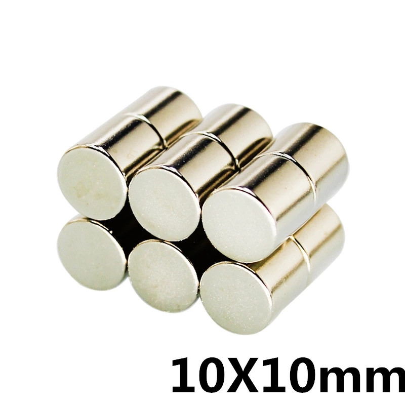 N50 Strong Round Disc Neodymium NdFeB Magnets Cylinder Rare Earth 10x20mm X5