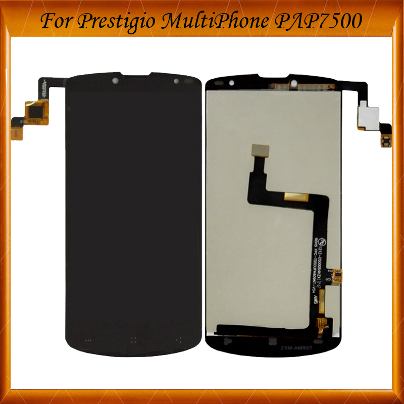 High Quality 5 For Prestigio MultiPhone PAP7500 LCD Screen Display with Touch screen Digitizer Assembly IN Stock