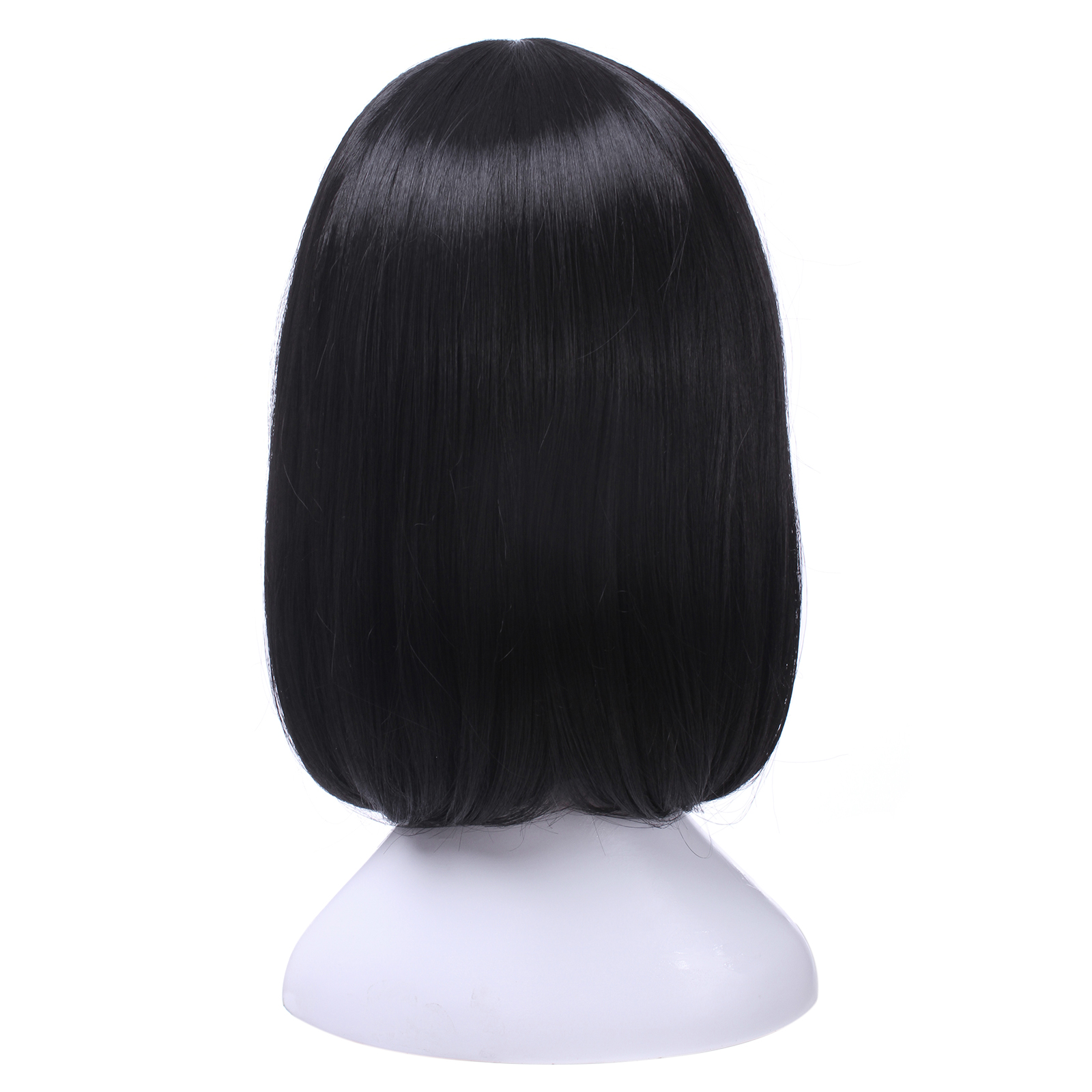 Image 3 - L email wig Mikasa Ackerman Cosplay Wigs Attack on Titan Cosplay Black Straight Wig Heat Resistant Synthetic Hair Perucas-in Synthetic None-Lace  Wigs from Hair Extensions & Wigs