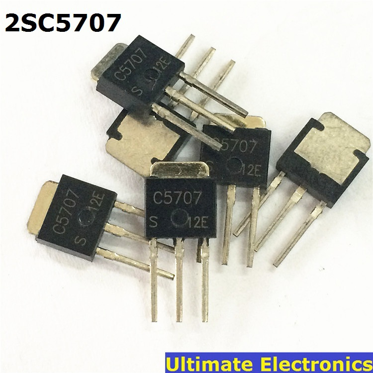 10 pcs TO-251 <font><b>C5707</b></font> 2SC5707 Switch Transistor/ LCD Repair Parts IC hym image