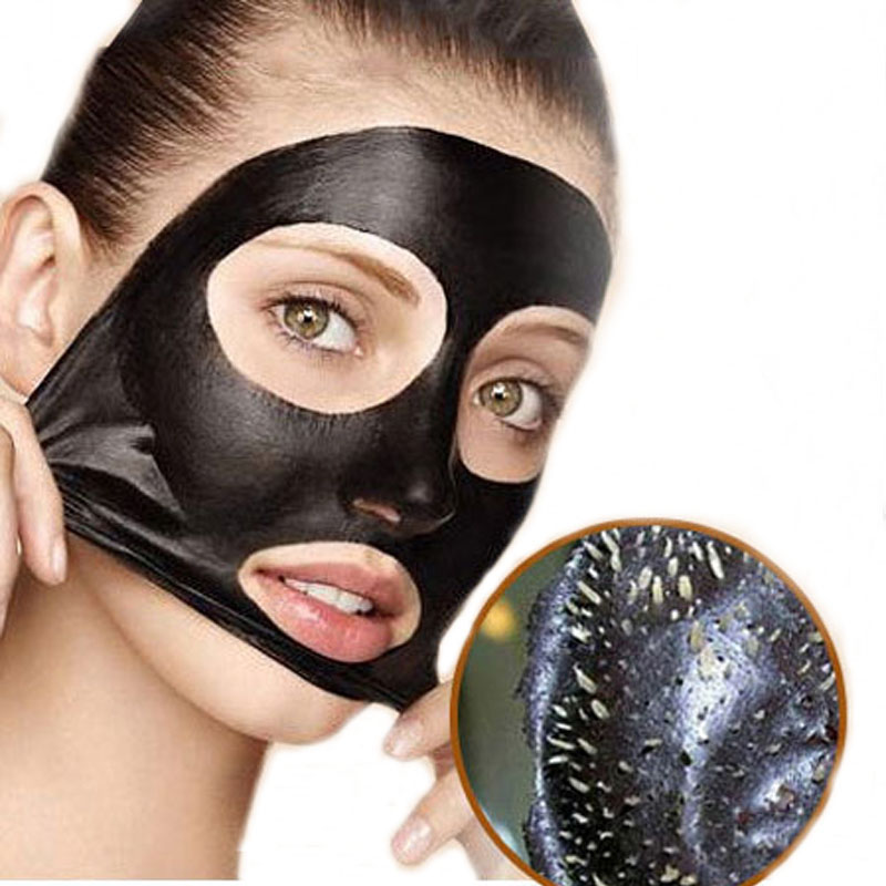 Create Your Own Active Charcoal Skin Purifying Face Mask: Blackhead Remover Carbon Black Mask Bamboo Charcoal Mask