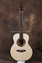 "Gitar Full Solid Profesional, 36 ""gitar dengan Solid Spruce Top / Solid Mahogany Body, gitar china"