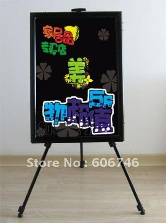 Wholesale Led Message Board Writing LED Board display ads panel for coffee wine bar Restaurants