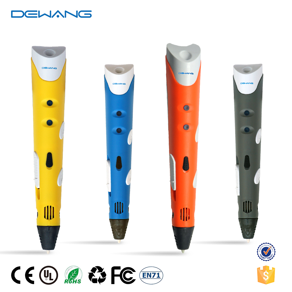 DEWANG 3D Pen Scribble 1.75mm ABS Filament 3D Printer Pen Verjaardagscadeau ABS 3D Printing Pen voor School Gadget 3D Pennen Creativiteit
