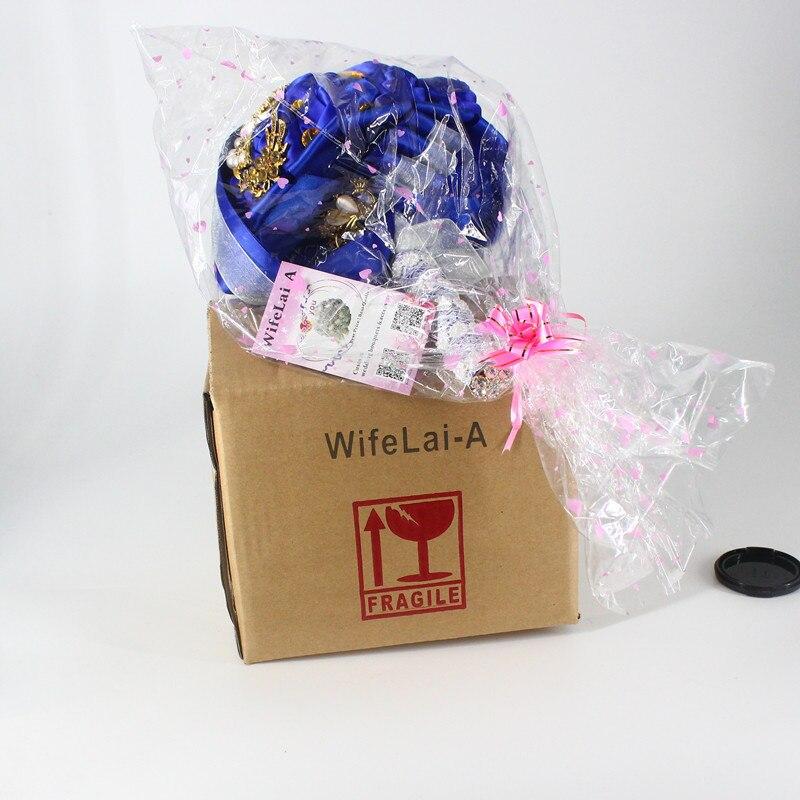 Buchet de nunta broșă exclusivă Buchet de flori artificiale - Accesorii de nunta - Fotografie 6