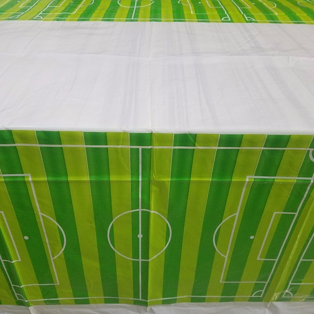 1pc Green Football Theme Happy Birthday Party Decoration Kits