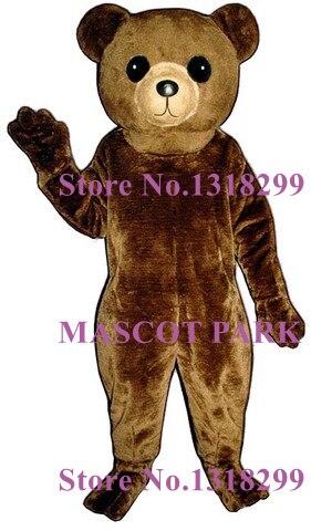 Mascotte mignon gros ours en peluche mascotte Costume adulte taille ours thème Anime Cosplay costumes carnaval déguisements Kits pour l'école