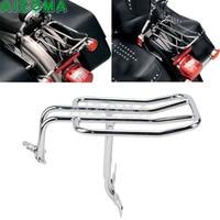 Chrome Easy Install Motorcycle Drag Specialties Chrome Tubular Rear Fender Luggage Rack For Harley Sportster XL 883/1200/1100/