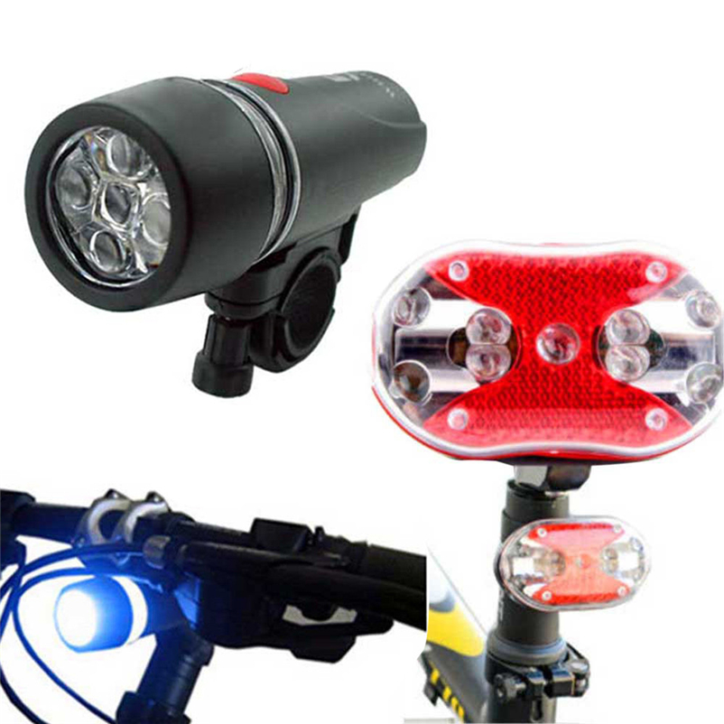 Bicycle LED Tail Light Safety Warning Light Watherproof Headlight Mountain Bike Rear Light Lamp Bicycle Light #FS#4MY23