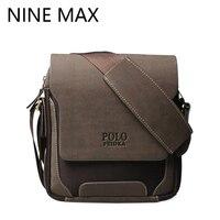 Mannen polo merk hoge kwaliteit crossbody messenger bag luxe retro pu lederen schoudertassen mode eenvoudige casual duurzaam satchel