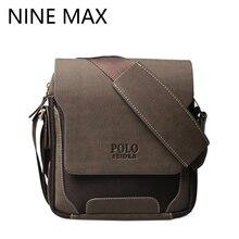 Polo Marke Hochwertige Crossbody Umhängetasche Luxus Retro Pu-leder Schulter Taschen Fashion Einfache Lässige Durable Satchel