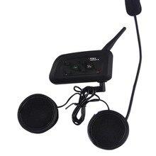 1200m Wireless Bluetooth Football Referee Full Duplex Intercom Interfone Headset BT Interphone with FM