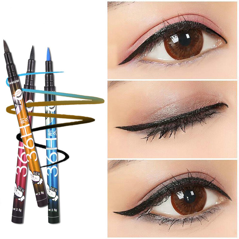Beauty Essentials Beauty & Health Official Website Handaiyan Colorful Liquid Eyeliner Matte Tint Long Lasting Waterproof White Blue Eye Liner Makeup Easy To Wear Party Cosmetics