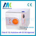 12L Autoclave con Impresora Europa B clase de Vacío médico dental Equipo De Laboratorio de esterilización Esterilizador con CE e ISO