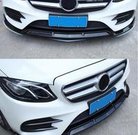 ABS передний бампер автомобиля Спойлер автомобильный диффузор подходит для Benz W213 E200 E260 E300 W205 C180 C200 C300 C43 X253 GLC200 GLC300