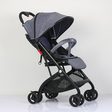 abdo Baby Lightweight And Convenient Stroller Can 175Degree Luxury Umbrella Car Portable Cart On The Airplane