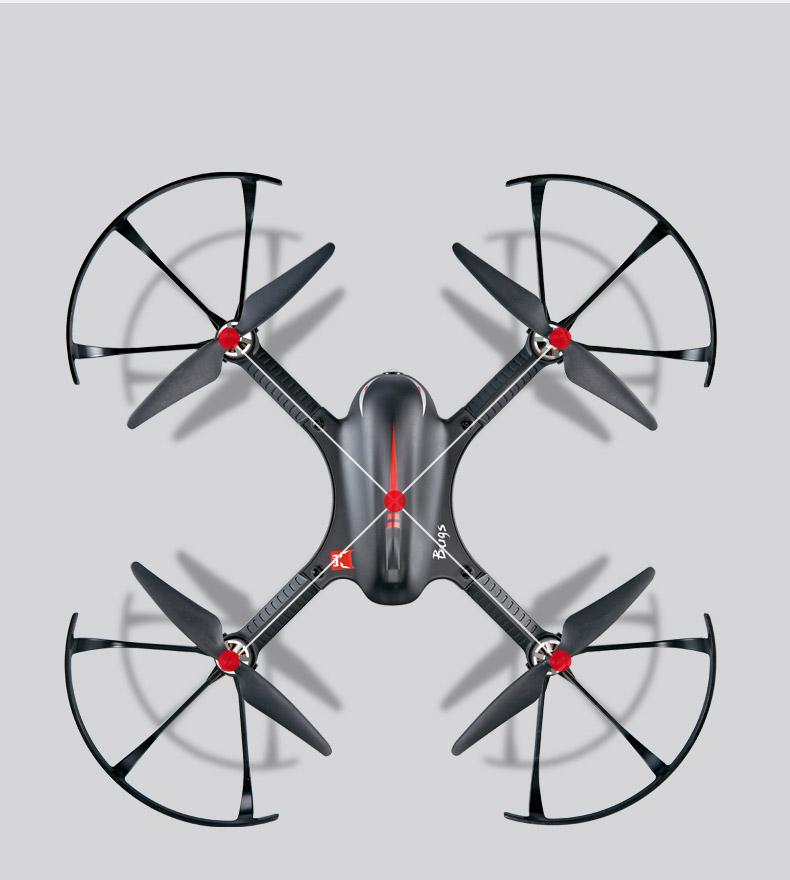 B3 Bugs 3 RC Quadcopter Brushless 2.4G 6-Axis Gyro Drone with Camera Mounts for Gopro Camera free shipping 5