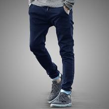 Модные Прямые Джинсы Мужские Брюки Классические Случайные Мужчин Джинсы Slim Fit Брюки Pantalones Hombre Стрейч джинсы Штаны